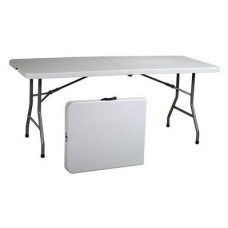8' Folding Banquet Table