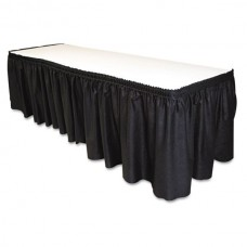 Table Skirting Black
