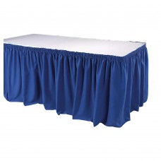 Table Skirting Royal Blue